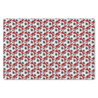 "Soccer Ball Pattern 10"" X 15"" Tissue Paper"