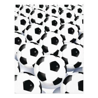 Soccer Ball Pattern Flyer