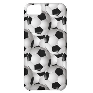 Soccer Ball Pattern iPhone 5C Cases