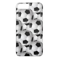 Soccer Ball Pattern iPhone 7 Plus Case