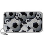 Soccer Ball Pattern iPhone Speakers