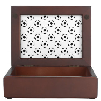 Soccer Ball Pattern Keepsake Box