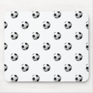 Soccer Ball Pattern: Mouse Pad