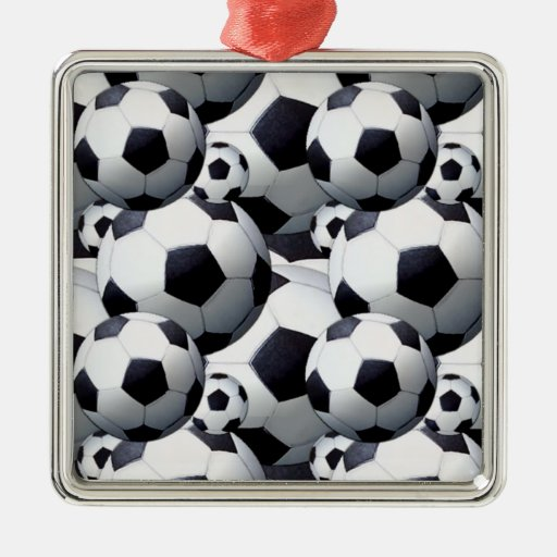 Soccer Ball Pattern Ornaments