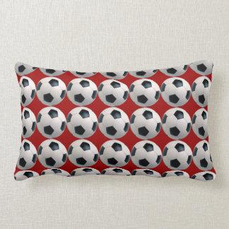 Soccer Ball Pattern Throw Pillows