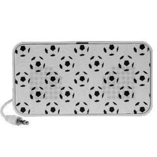 Soccer Ball Pattern PC Speakers