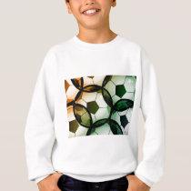 Soccer Ball Pattern Sweatshirt