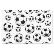 Soccer Ball Pattern Tissue Paper