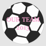 Soccer Ball Personalize It! Sticker