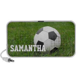 Soccer Ball Personalized mp3 Speaker Accessory