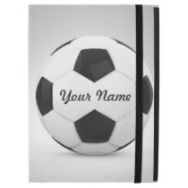 "Soccer Ball Personalized Name iPad Pro 12.9"" Case"