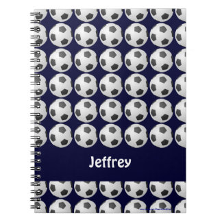 Soccer Ball Personalized Notebook