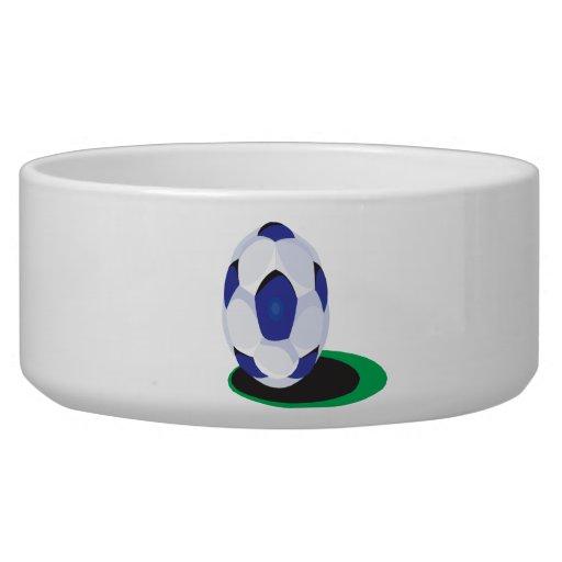 Soccer Ball Dog Water Bowl