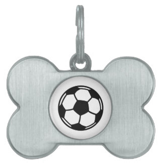 Soccer ball pet ID tags