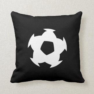 Soccer Ball Pictogram Throw Pillow