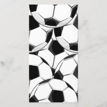 Soccer Ball Pile Pattern
