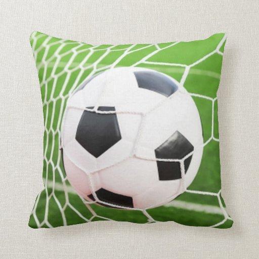 Squishy Soccer Ball Pillow : Soccer Ball Pillow Zazzle