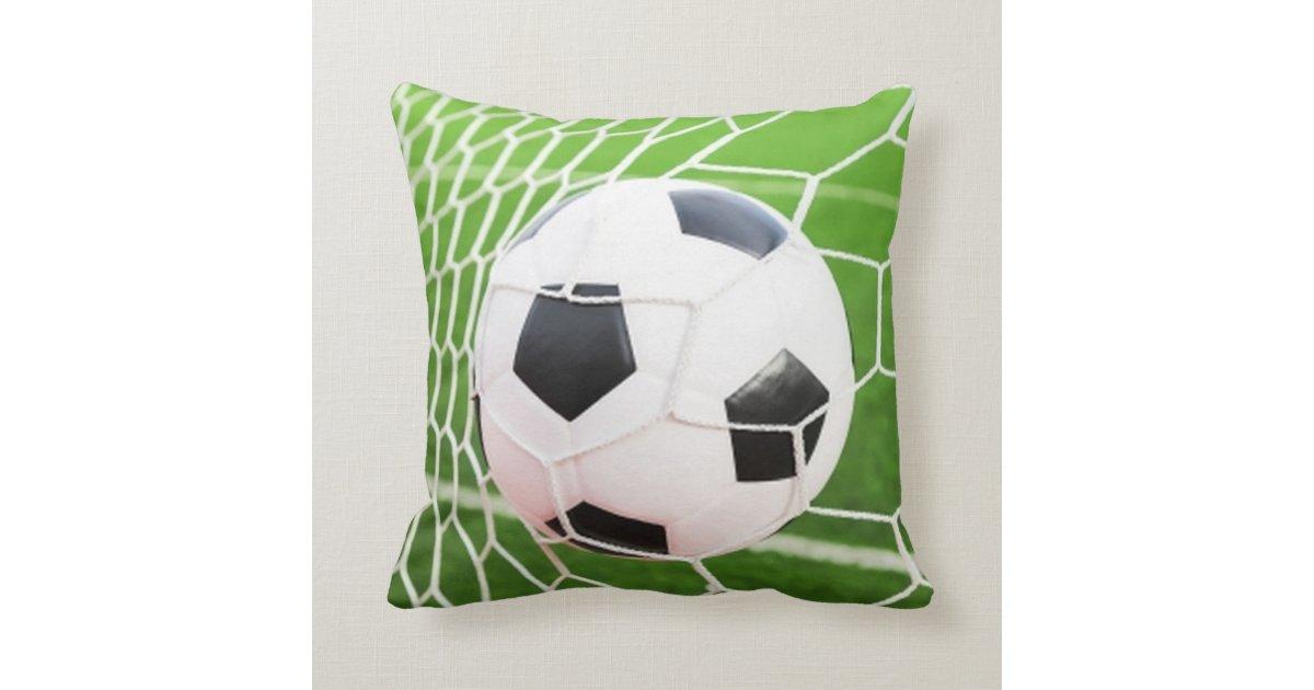 Squishy Soccer Ball Pillow : Soccer Ball Pillow Zazzle.com