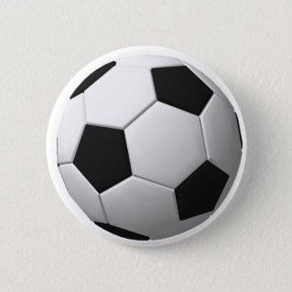 Soccer Ball: Pinback Button
