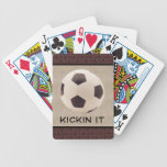 Soccer Ball Playing Cards
