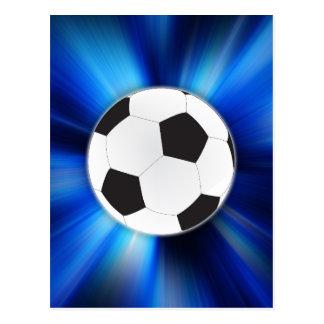 Soccer ball post cards