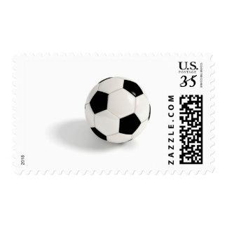 Soccer ball. postage