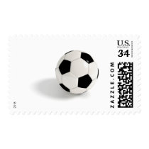 Soccer ball. postage