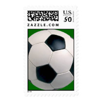 Soccer Ball Postage Stamps