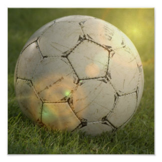 Soccer Ball  Posters