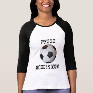 Soccer Ball Proud Soccer Mom T-shirt