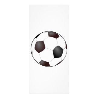 Soccer Ball Rack Card