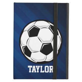 Soccer Ball; Red, White, and Blue iPad Air Cover
