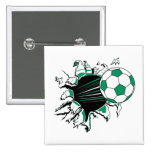 soccer ball ripping thru button