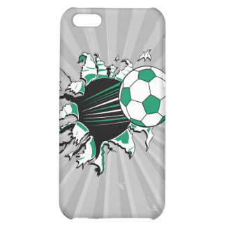 soccer ball ripping thru iPhone 5C covers