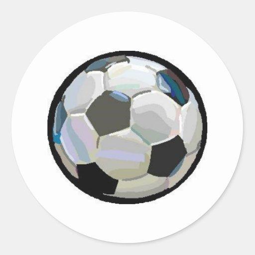soccer ball round sticker