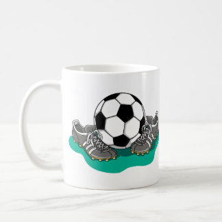Soccer Ball Shoes Coffee Mug