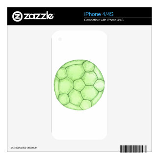 Soccer Ball Sketch 2 iPhone 4S Skins