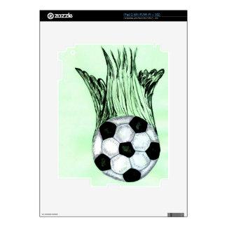 Soccer Ball Sketch 4 iPad 2 Decal