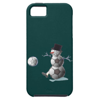 Soccer Ball Snowman iPhone SE/5/5s Case