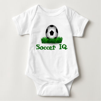 Soccer ball, soccer baby bodysuit