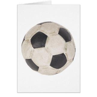 Soccer Ball Soccer Fan Football Footie Soccer Game Greeting Card