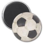Soccer Ball Soccer Fan Football Footie Soccer Game Magnets