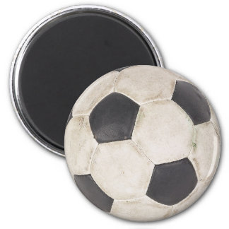 Soccer Ball Soccer Fan Football Footie Soccer Game 2 Inch Round Magnet