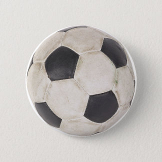 Soccer Ball Soccer Fan Football Footie Soccer Game Pinback Button