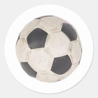 Soccer Ball Soccer Fan Football Footie Soccer Game Classic Round Sticker