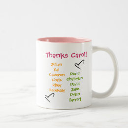 soccer-ball, soccer-mom1, CarolTeam Mom, Soccer... Two-Tone Coffee Mug