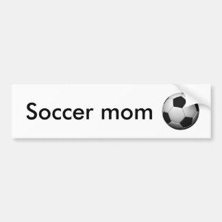 soccer-ball, Soccer mom Car Bumper Sticker