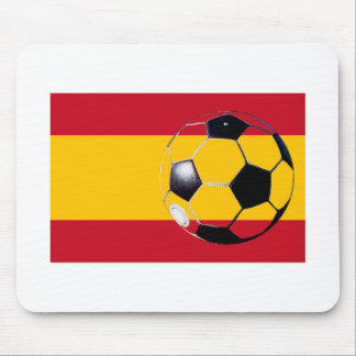 Soccer Ball Spain Flag2 The MUSEUM Zazzle Gifts Mouse Pad