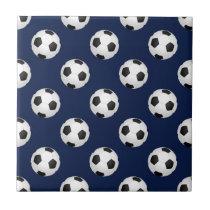 Soccer Ball Sports Ceramic Tile