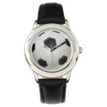 soccer ball sports design watch